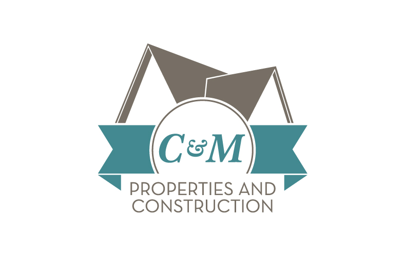 C&M Properties and Construction logo